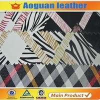 2015 Different Pattern Artificial Pu Leather