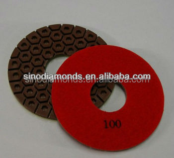 Wet Diamond Polisher Pad for granite floor polishing for selling