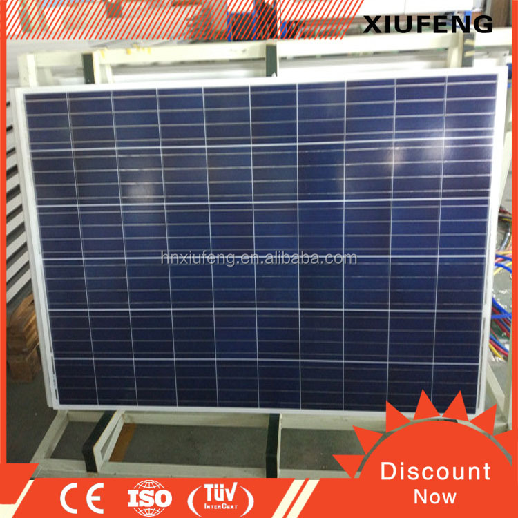 Wholesale polysilicon 300w poly solar panel for industrial use