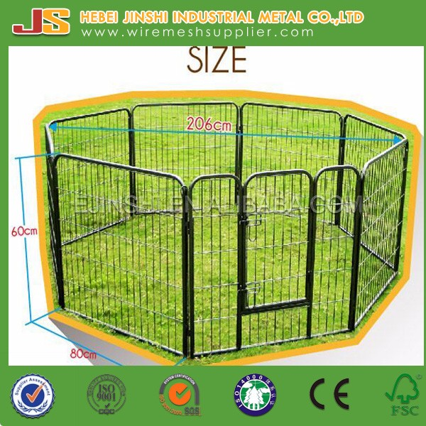 Powder coated Boxed dog kennels/dog cage/ dog run play pen