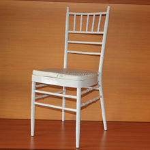 White Chiavari metal colorful wedding chair for sale wedding chavari chair chaivari chair wedding