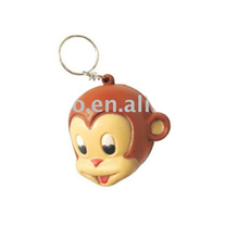 animal keychain/pu stress ball