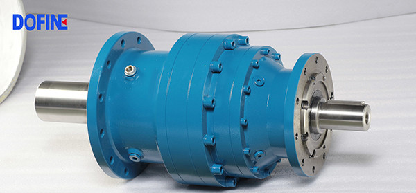 Dofine industrial speed transmission gearbox high torque planetary right angle gearbox