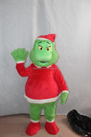 Halloween the Grinch mascot costume , Christmas the Grinch mascot for sale
