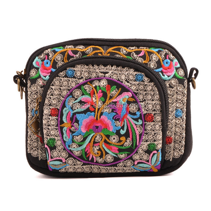 Handbag Manufacturer wholesale New Arrival Chinese characteristics embroidery fanshion women's handbag