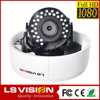 LS Vision dome 12v surveillance camera,dome 1080p network ip camera,diy security cctv camera kit