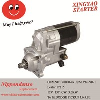 12VJapan car Electromagnetic starter and alternator manufacture (128000-8350)