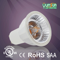 Gu10 LED spotlight lamp, led spotlight 5w dimmable 5000k,rocket in marke