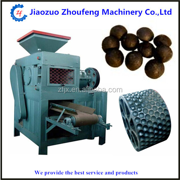 Charcoal and coal ball briquette machine price