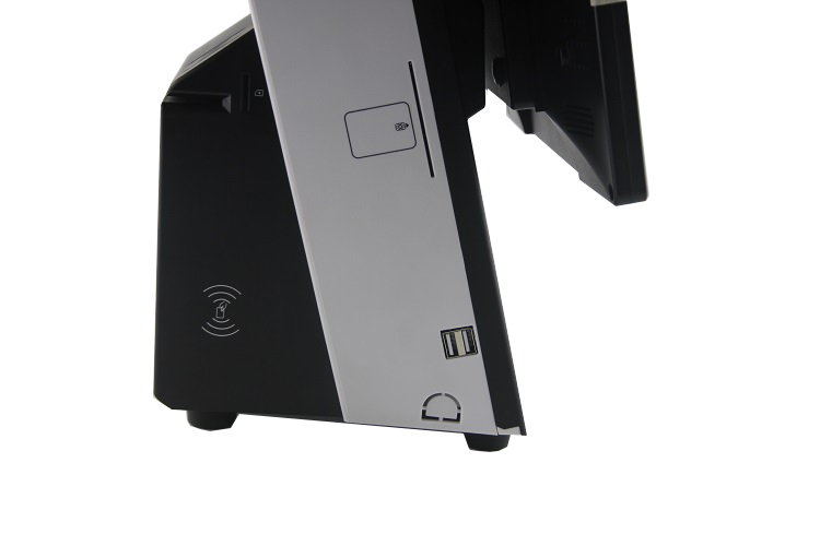 12 INCH ALL IN ONE WINDOWS POS TERMINAL WITH PRINTER/POS Manufacturer 12 inch Full Flat Double Touch Screen POS Terminal