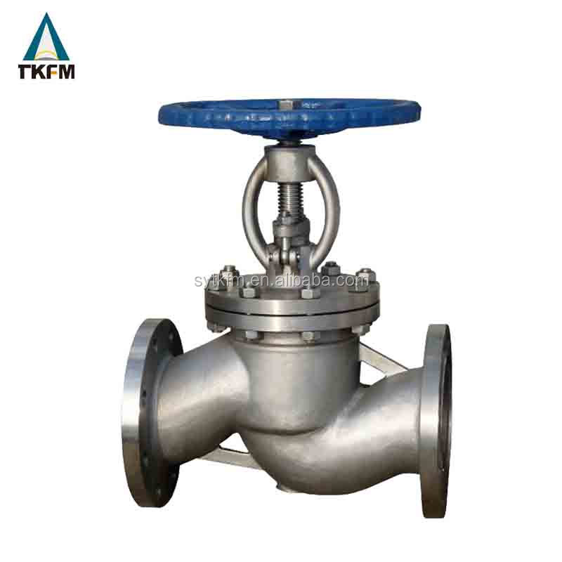 Flanged steam wcb bellow seal forged globe valve 150 dimensions bolted bonnet