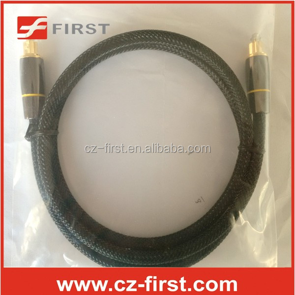 Cheapest factory price free sample Digital optical audio toslink Cable in stock