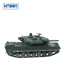 Camouflage Painted Good Function Hobbyengine Army RC Tank With Cannon Recoil Action