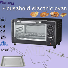 CZ09A black electric camping cake baking oven