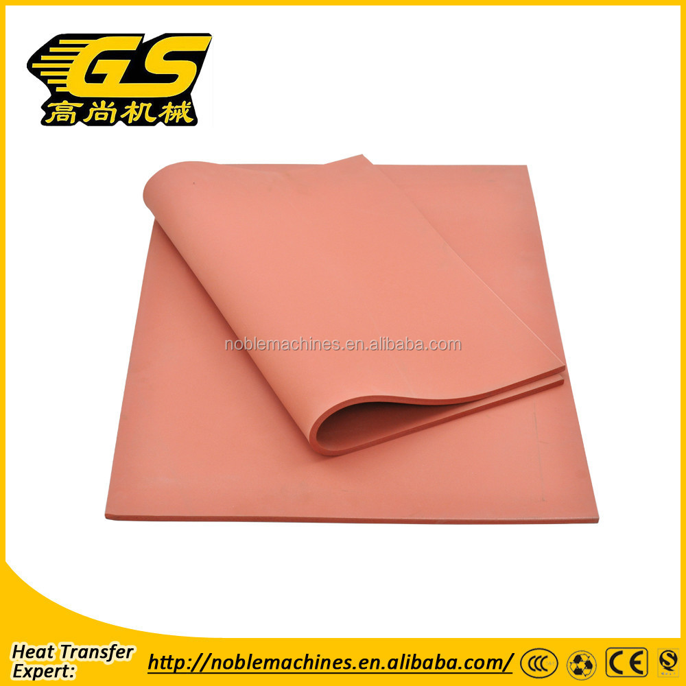Silicon rubber for heat press machine best quality in China
