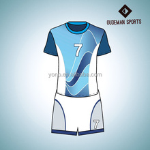 2016 New design wholesale blank soccer jersey custom