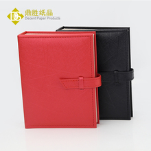 Foldable PU Leather Ear Studs Jewelry Organizer Display Storage Book Style Earrings Case Box