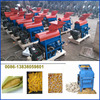 Diesel driven corn thresher for tractor