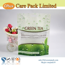 Heat seal empty sachet tea bag packaging pouch