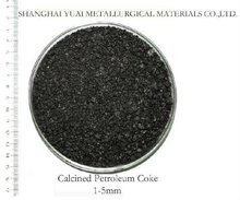 1-5mm High FC Low S Calcined Petroleum Coke
