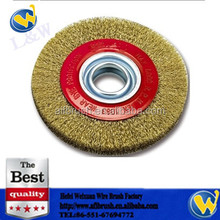 Taper Bore Rotary Wire Brush with Competitive Price