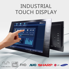 Factory Wholesale Computer large monitor 27 inch Infrared LCD Touch Screen Monitor