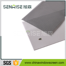 SS Security Screen Doors Window Security Screens / Black Powder Coated 316 Marine Grade Stainless Steel Security Screens