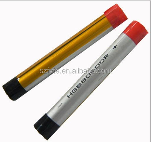 HOT selling 3.7V lithium polymer rechargeable battery 1100mAh Electric cigarette 3.7v lithium battery 13700