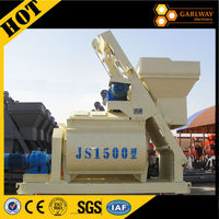 Famous Brand JS1500 Twin Shaft Concrete Mixer With CE