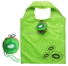 Kiwi styles Colorful Printed 190T Foldable Polyester Tote Bag