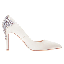 rhinestone bridal stiletto high heel crystal wedding shoes for bride