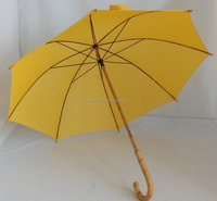 60cm durable japanese umbrella, straitht umbrella with bamboo handle