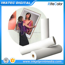 Wholesale artist stretched polyester matte coated canvas roll for inkjet digital printers