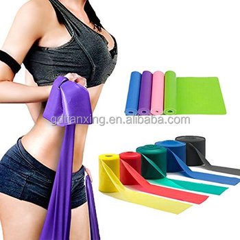 Fitness Custom Ballet bands Physical Exercise Resistance band