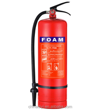 UL china supplier 9 Liter afff foam fire extinguisher with gas cylinder