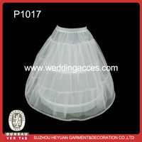 P1017 Hot Sale Lovely 2-Hoop Petticoat for Kids