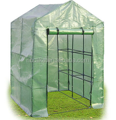 8 Shelves Greenhouse Portable Mini Walk In Outdoor Green House