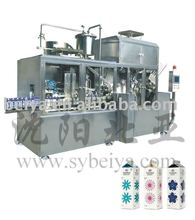 milk filling and sterilizing machine