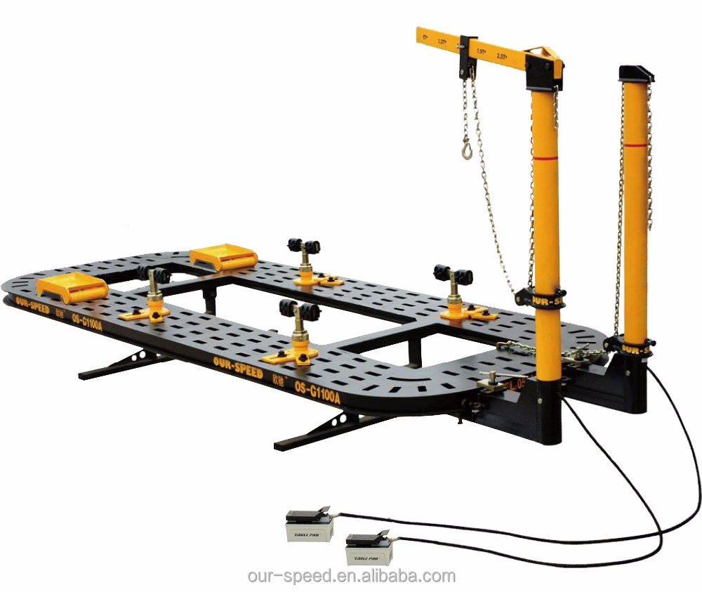 2017 HOT! OUR-SPEED Auto Body Frame Machine OS-G1100A Chassis Straightening/Car Bench with ISO&CE Certificated
