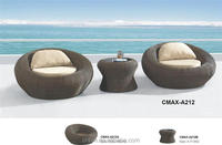 Ourdoor Furniture Round Lounge Chair for Beach