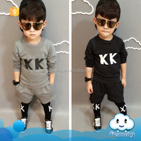 Wholesale baby boy fancy fashion design clothes suit kids model clothes pictures boys brand name sport clothing