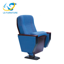 2017 Cheap Price Wood Back Auditorium Chair for Commercial Used