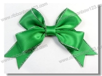 2015 Wholesale boutique satin ribbon bow pre-made bow, fancy gift bows ,package bows ribbon bows