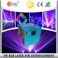 5w / 5 watt rgb dj laser light price ,laser light show equipment for sale