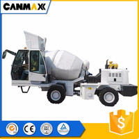 Self-loading mix drum/ mobile concrete mixers truck for sale