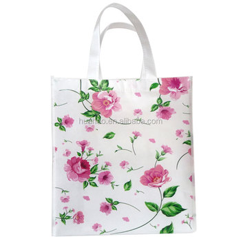 top quality promotion laminated non woven shopping tote bag