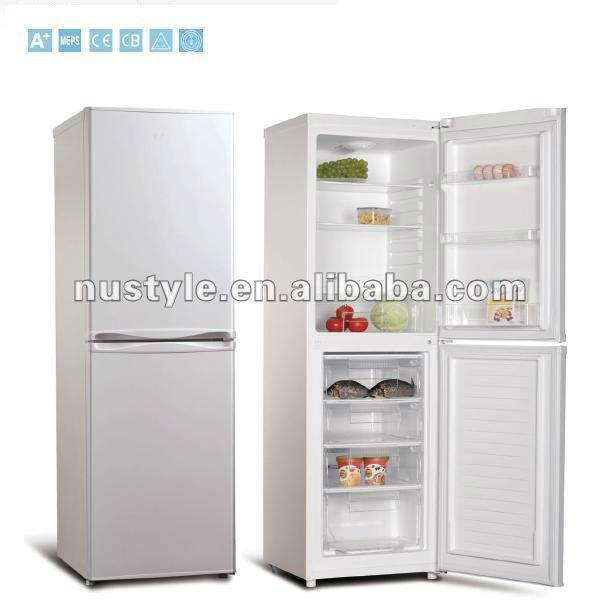 BCD-240 Double Door fridge, Bottom Freerzer Refrigerator, Down Freezer Refrigerator