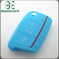 Wholesale new product silicone car key case for vw golf 7 machine copy keys used dimple lock pick