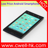 X-BO V3+ Android 4.4 MTK6572W Dual Core 4.7 inch 4GB ROM Low Price China Mobile Phone With Whatsapp