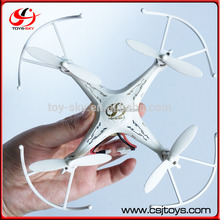China Hobby Toys 4 Channel Drone Model 6 Axis Gyro 2.4G RC Quadcopter With Headless Mode And Led Light
